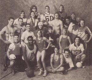 Early members of The Esteem Team.