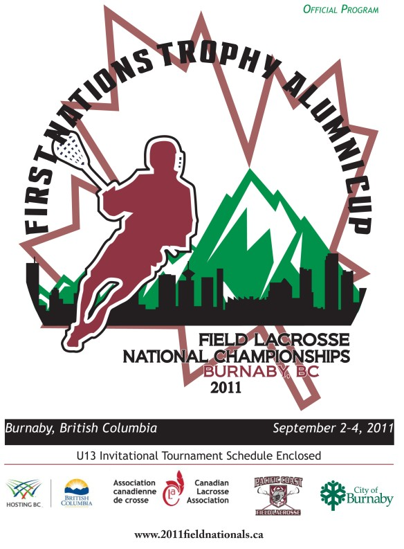 Cover of 2011 National Field Lacrosse Championships