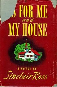 First edition photo of As For Me and My House